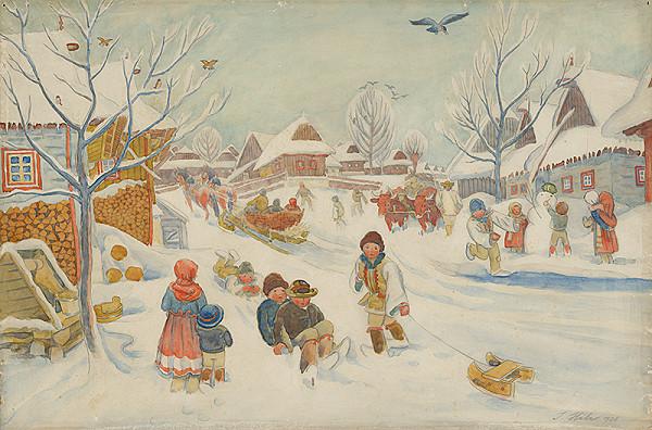 Jan Hála – Zima vo Važci