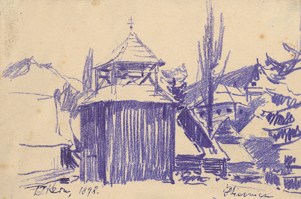 Peter Július Kern – Zvonica v Štiavnici