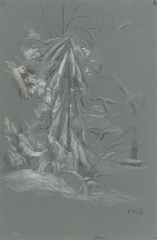 Peter Július Kern - Strom v zime