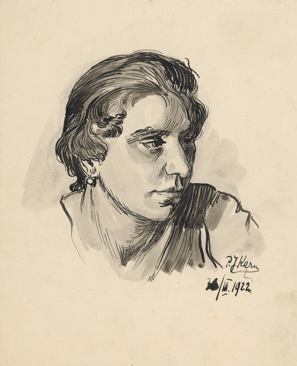 Peter Július Kern – Hlava ženy