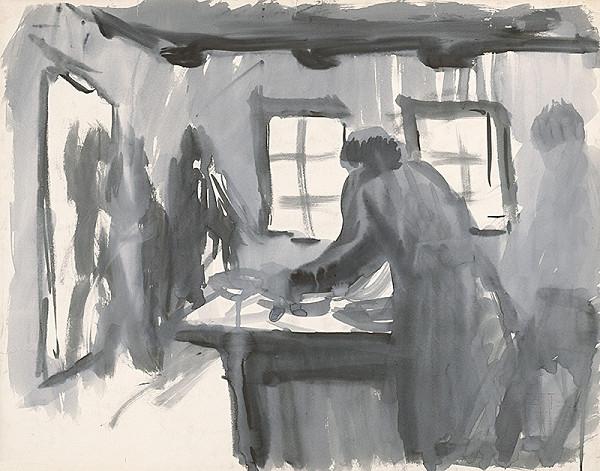 Ernest Špitz - Za stolom