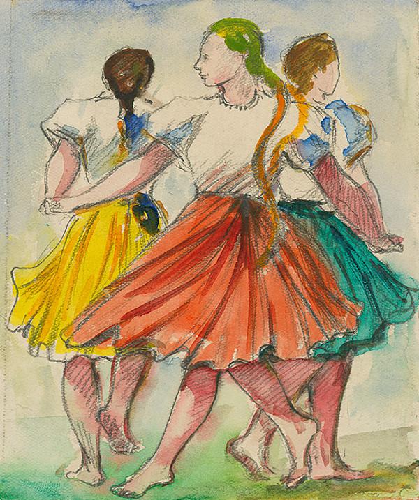 Ernest Špitz – Tanečnice