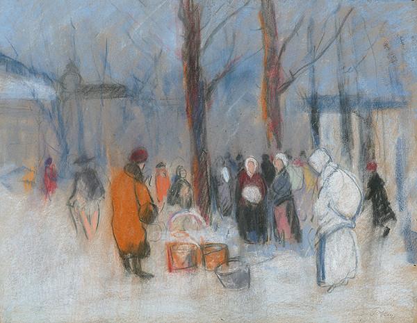 Karol Polónyi – Trh v zime