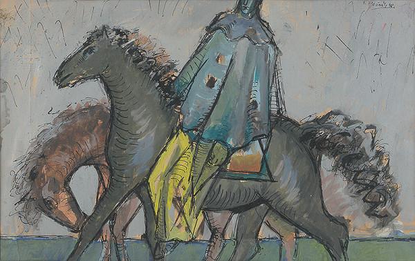 Ferdinand Hložník - Jazdec