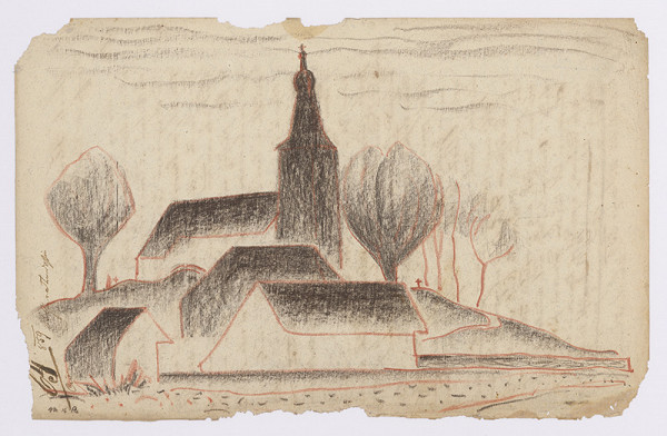 Miloš Alexander Bazovský – Štúdia dedinského kostola