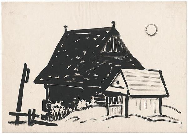 Miloš Alexander Bazovský – Chalupa s drevárňou