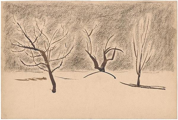 Miloš Alexander Bazovský - Tri stromy