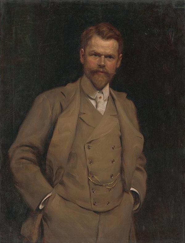 Eduard Ballo - Autoportrét