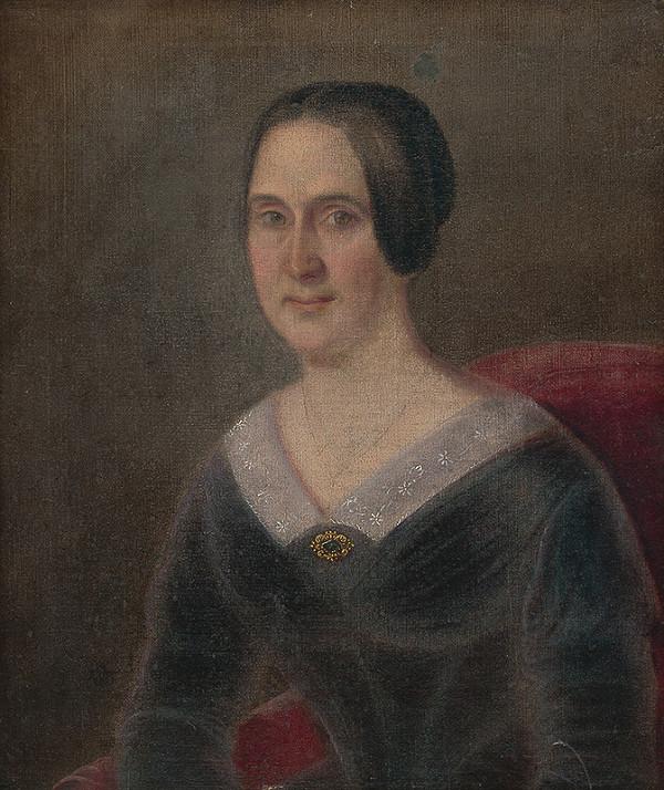 Peter Michal Bohúň - Portrét grófky Andrássyovej