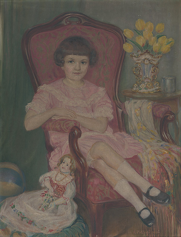 Alojz Fellegi – Dievčatko s bábikou