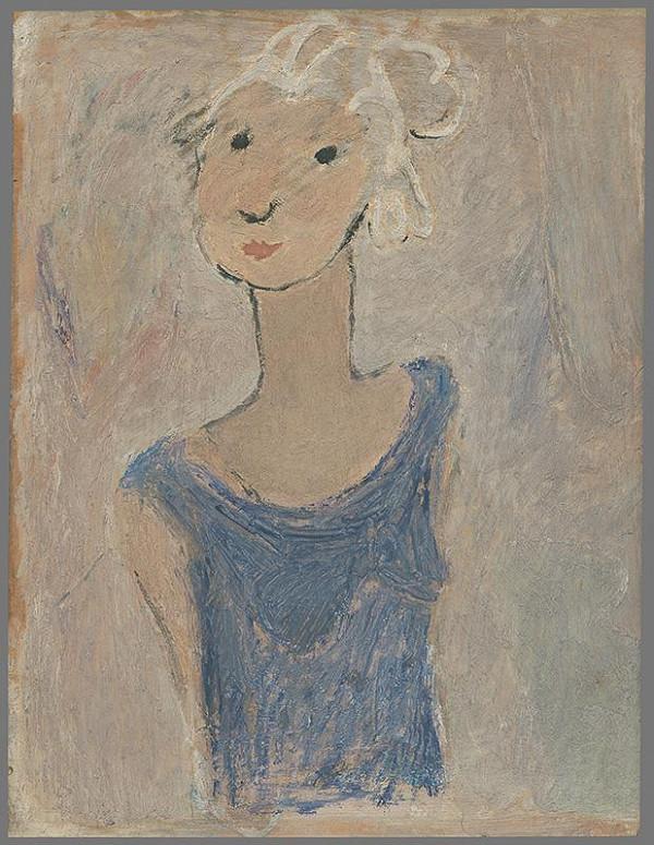 Koloman Sokol - Dievča v modrom