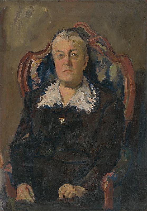 Ladislav Čemický - Portrét matky