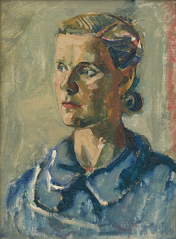 Ladislav Čemický – Portrét Ľudky