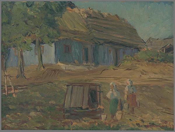 Július Nemčík – Pri studni