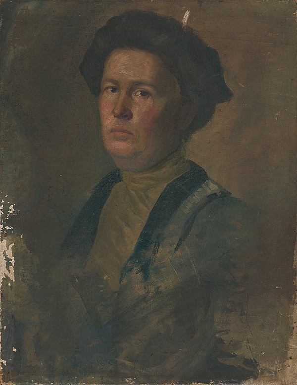 Peter Július Kern – Portrét p.Kuskovej