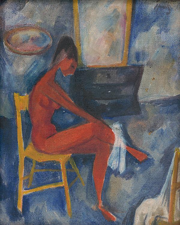 Ernest Špitz - Po kúpeli