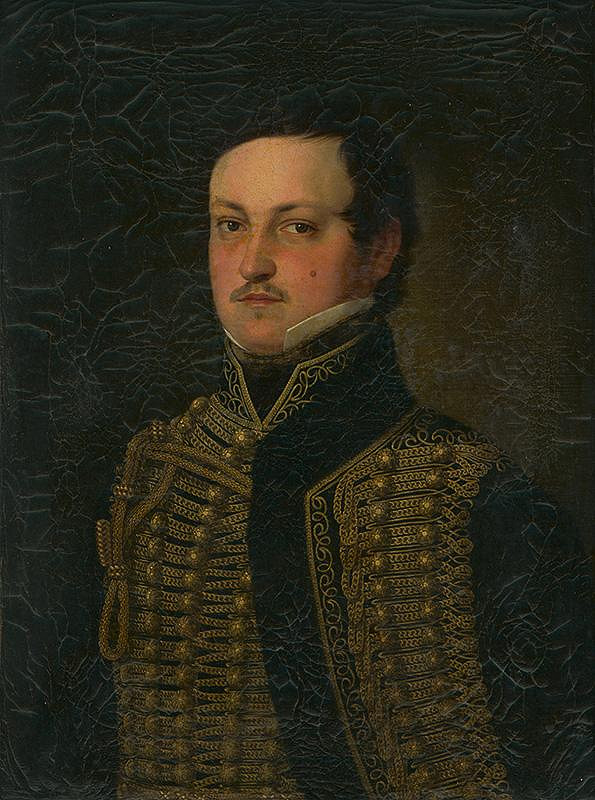 Slovenský maliar z 1. polovice 19. storočia – Portrét Ludviga von Okolicsány