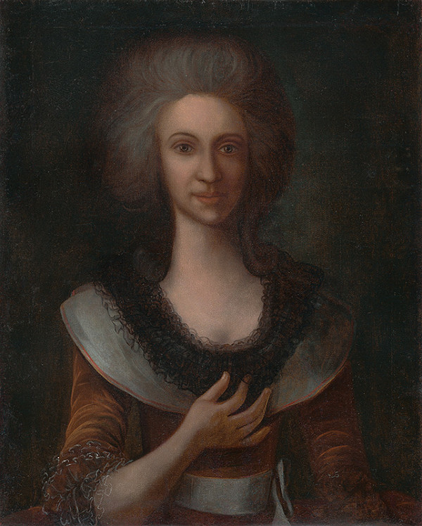 maliar z 18. storočia - Portrét ženy