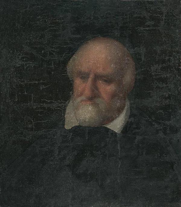 maliar z 19. storočia - Hlava muža