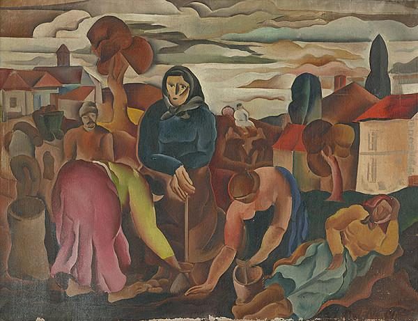 František Foltýn - Figurálna kompozícia