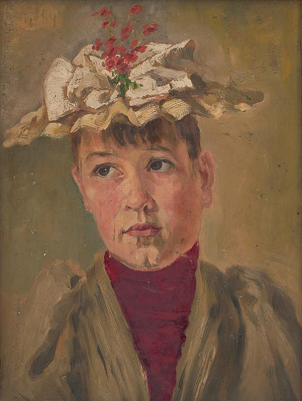 Eduard Ballo - Portrét Márie Zuffovej Lackovej