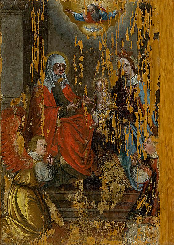 Majster tabule svätého Juraja – Adorácia oltárnej sviatosti - centrálna oltárna tabuľa