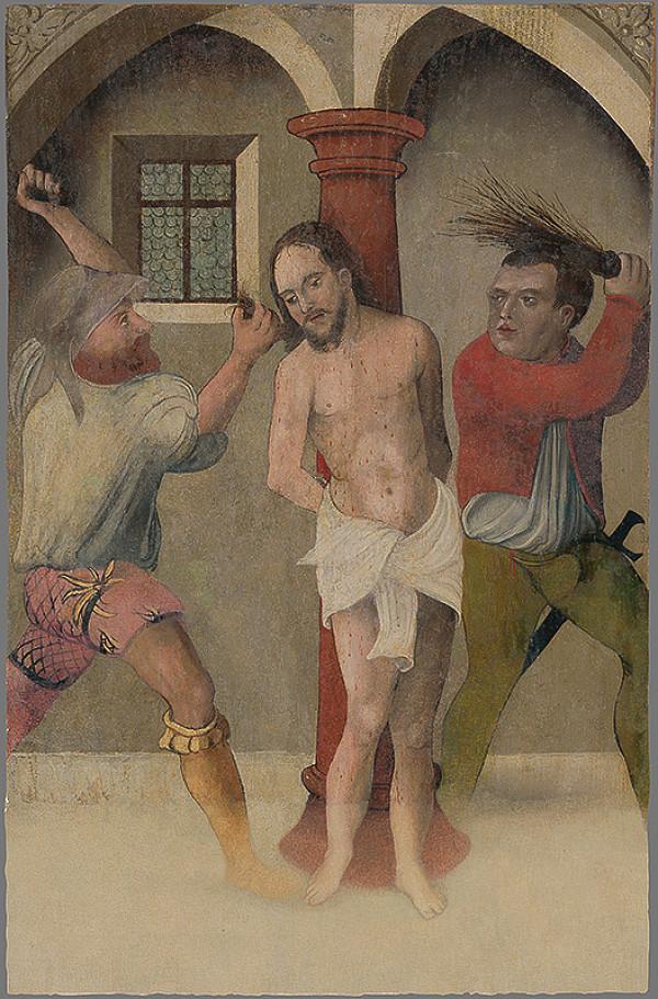 Majster tabule svätého Juraja - Bičovanie Krista