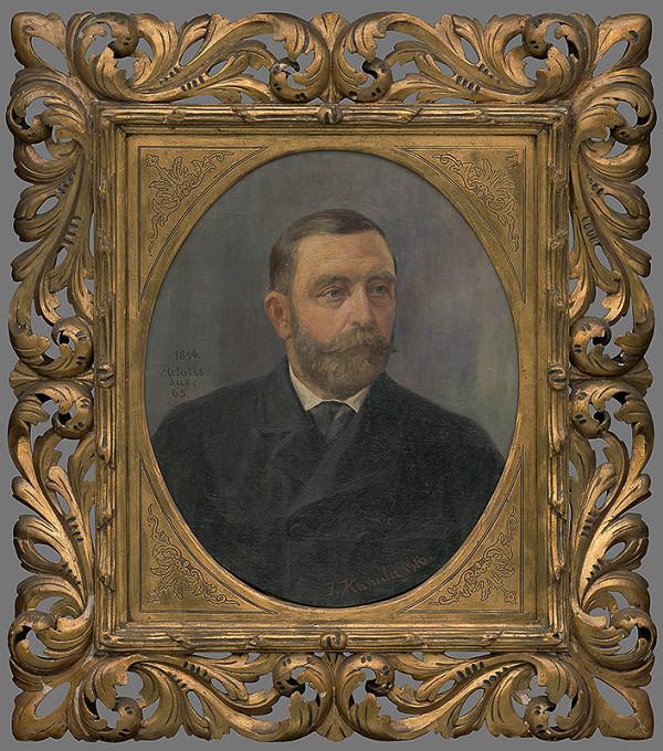 Jozef Hanula – Podobizeň J.Pálku