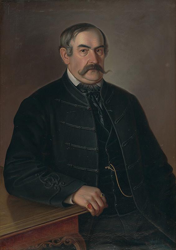 Peter Michal Bohúň – Podobizeň muža s fúzami