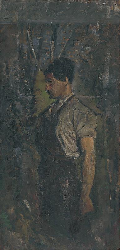 Ladislav Mednyánszky – Robotník