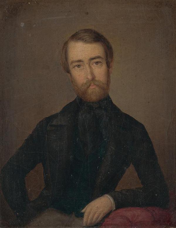 Peter Michal Bohúň - Portrét muža