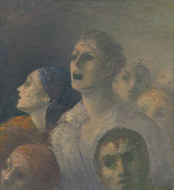 Ján Mudroch - Figurálna kompozícia