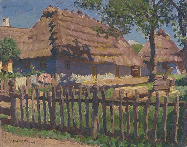 Jozef Theodor Mousson – Dedinský dom