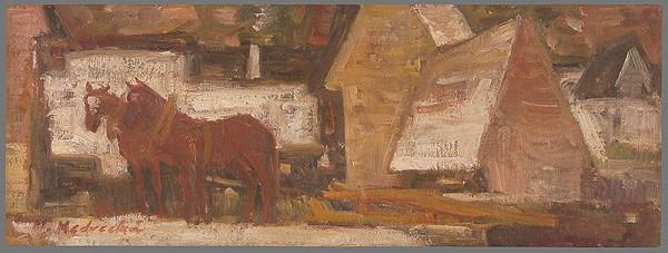 Mária Medvecká – Červené koníky