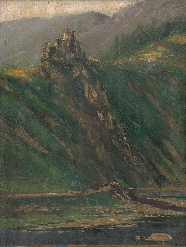 Ferdinand Katona – Starý hrad Strečno