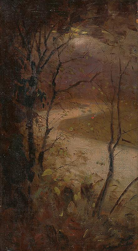 Ferdinand Katona - Stromy pri rieke