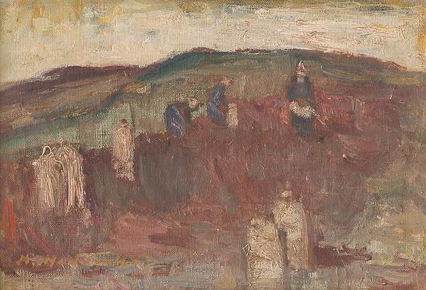 Mária Medvecká – Na zemiakovom poli