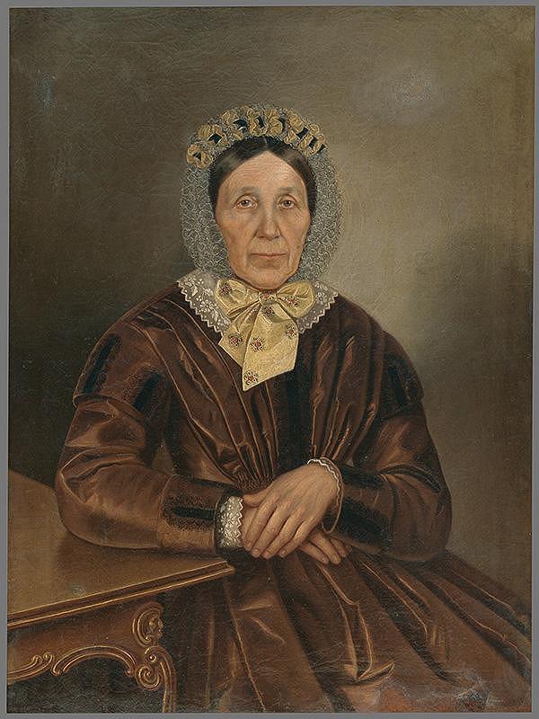 Peter Michal Bohúň - Portrét starenky