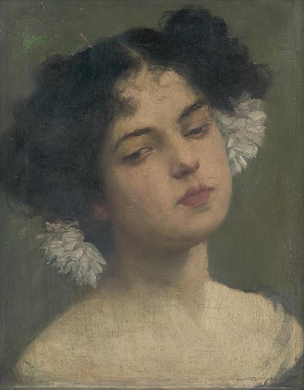 Leopold Horovitz - Hlava dievčaťa