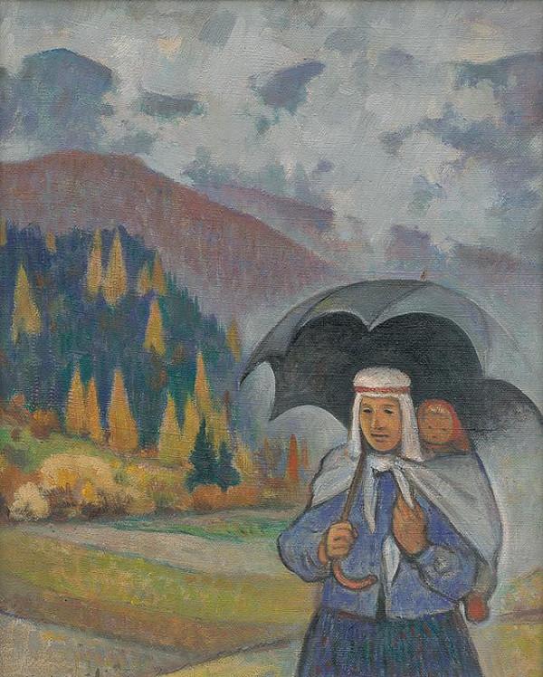 Imrich Weiner-Kráľ - V daždi