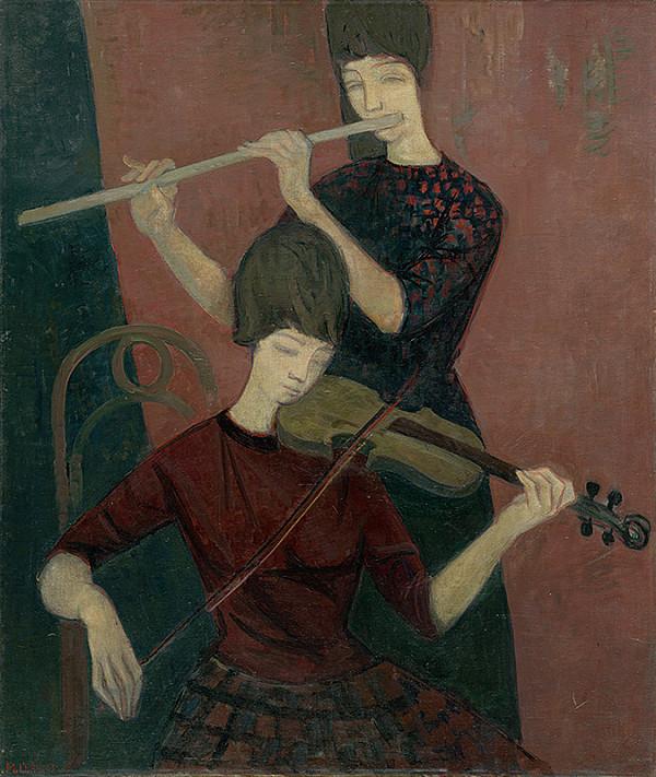 Michal Kern – Huslistka a flétnistka
