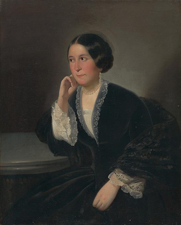 Peter Michal Bohúň - Portrét dámy