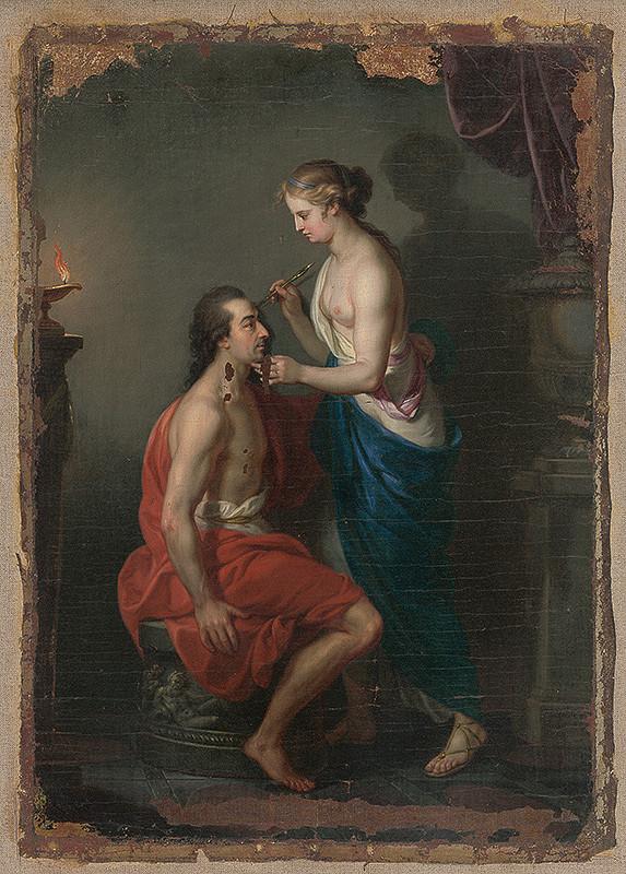 Taliansky maliar z 2. polovice 18. storočia – Mytologická scéna