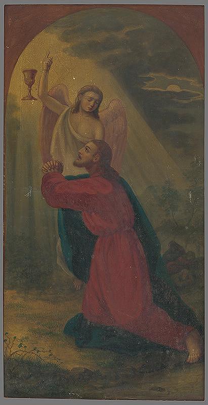 Slovenský autor z 2. polovice 18. storočia – Kristus s anjelom