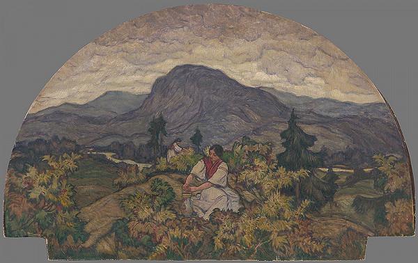 Martin Benka - Baba pri Levároch