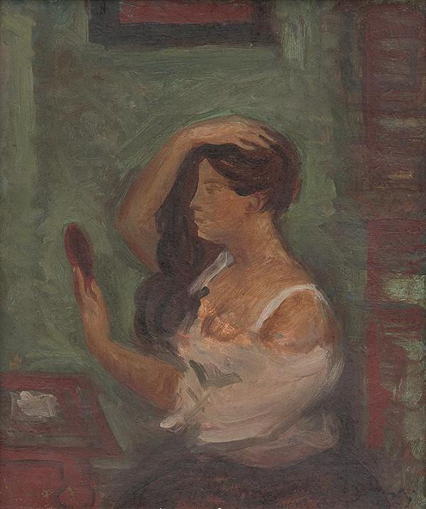 Ján Želibský – Žena pred zrkadlom