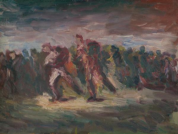 Ernest Špitz – Evakuácia