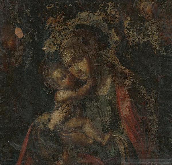 Taliansky maliar z 2. polovice 18. storočia – Madona s Ježiškom