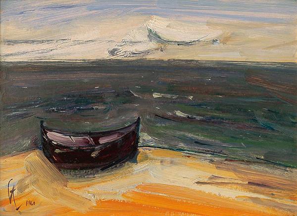 František Studený – More a loďka