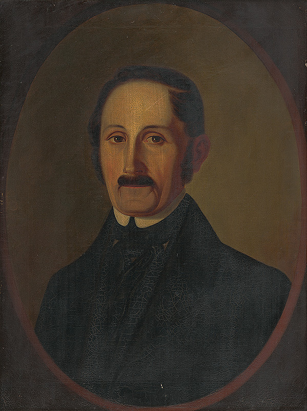 Eduard Ballo - Portrét Samuela Ballu